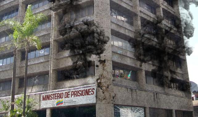 Minutos después de su creación, pranes toman control del Ministerio de Prisiones