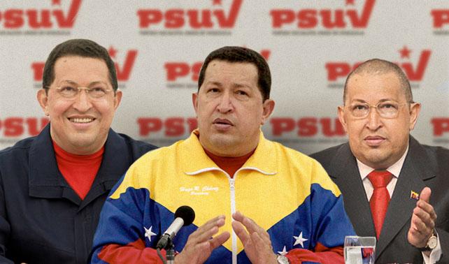 En respuesta a tarjeta única de la MUD el PSUV lanza a 35 versiones de Chávez