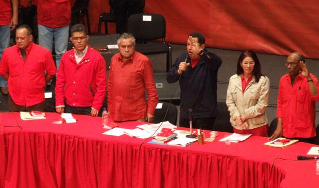 PSUV propone proclamar Rey a Chávez y que elecciones sean para Primer Ministro