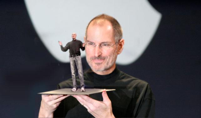 Apple lanza nuevo Steve Jobs con más memoria y más pequeño
