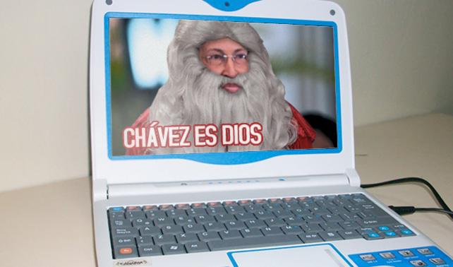 """Programa instalado en Canaimas llamado """"Chávez es Dios"""" podría estar politizado"""