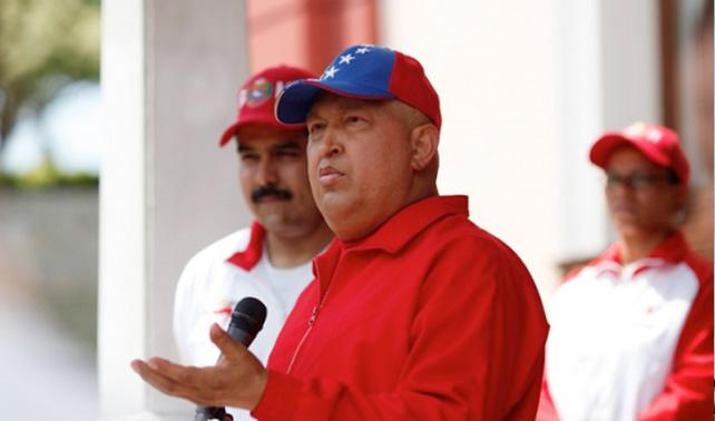 Chávez está sano, pero se puso chimbo