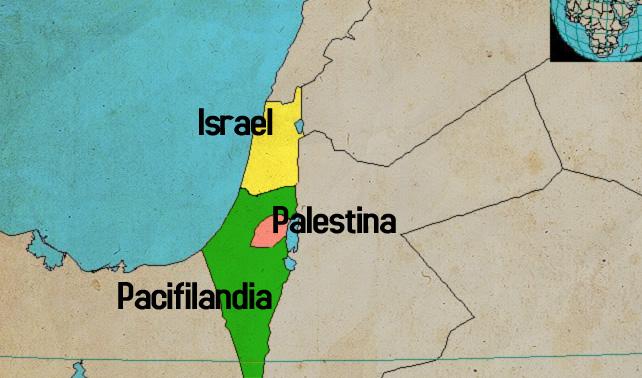 Para acabar con conflicto, ONU crea nuevo estado que separará a Israel de Palestina