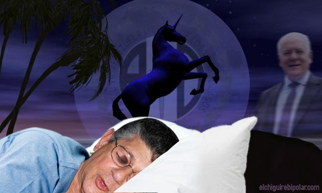 En un sueño, unicornio le pide a Ramos Allup que AD apoye candidatura del Tigre