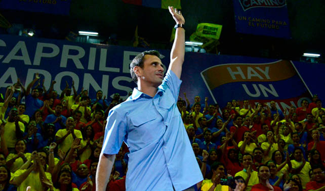 Gobernador mucho menos atractivo que Leopoldo López lanza su campaña