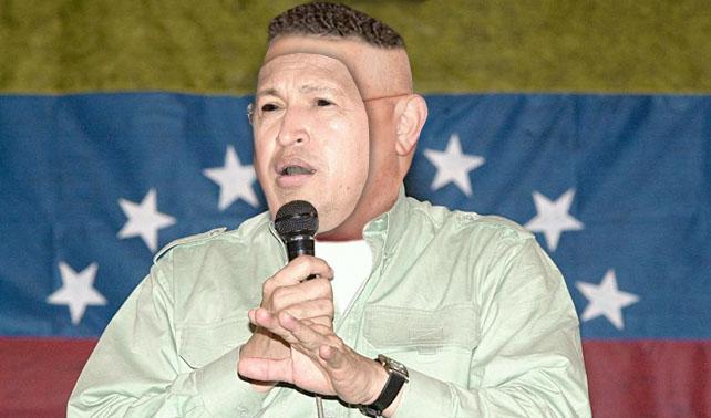Halloween: Chávez se disfraza de Chávez del 95 y habla mal del socialismo