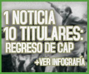 10 Titulares sobre el regreso de los restos de CAP