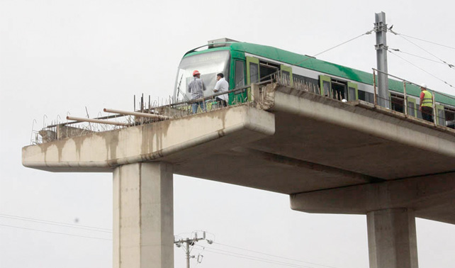 Maracuchos sorprendidos porque tramo incompleto del Metro resultó peligroso