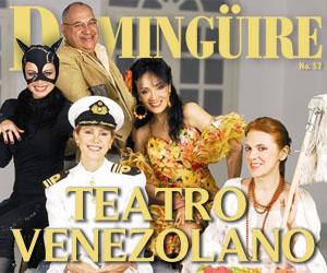 Domingüire No.52: Especial Teatro Venezolano (2 pag.)