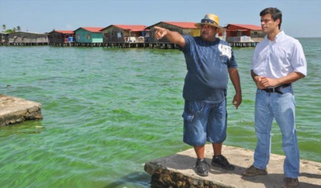 """Pescador mintió a Leopoldo López cuando este le preguntó """"¿dónde está el mar?"""""""