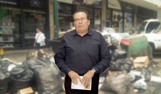 Habitantes de Libertador protestan porque llevan semanas sin recoger a Didalco Bolívar