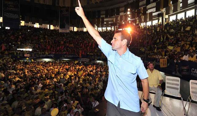 PSUV celebra que 25.000.000 no votaron por Henrique Capriles