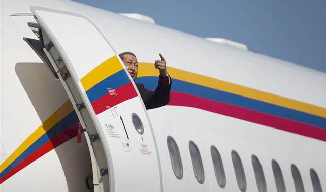 Avión presidencial pone gasolina en Venezuela y regresa a Cuba