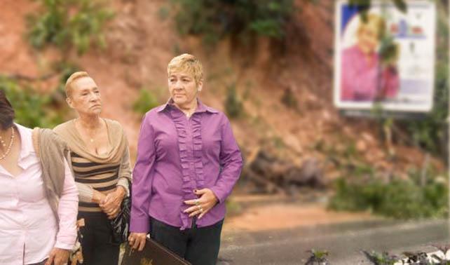 Alcaldesa Myriam Do Nascimento inaugura nuevo derrumbe en El Hatillo