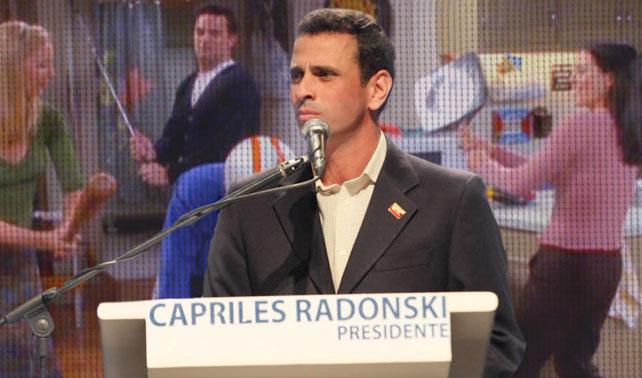 Colocarán episodios de Friends para rellenar silencios incómodos en discursos de Capriles