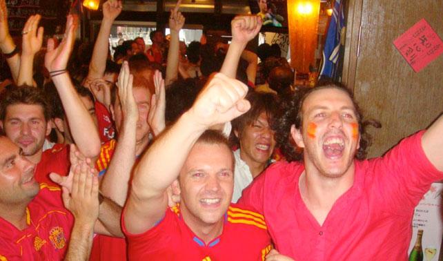 Españoles dejan de no-trabajar para poder ver la Eurocopa