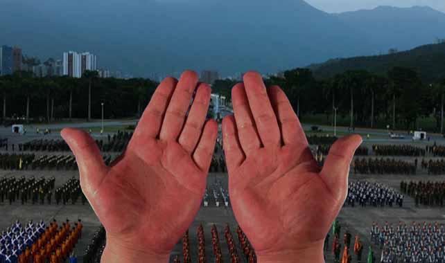 Palmas rojas de Diosdado Cabello le suplican aplaudir con menos fuerza