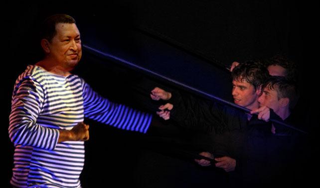 Director de Teatro Negro de Praga acondiciona CNE para que Chávez se inscriba