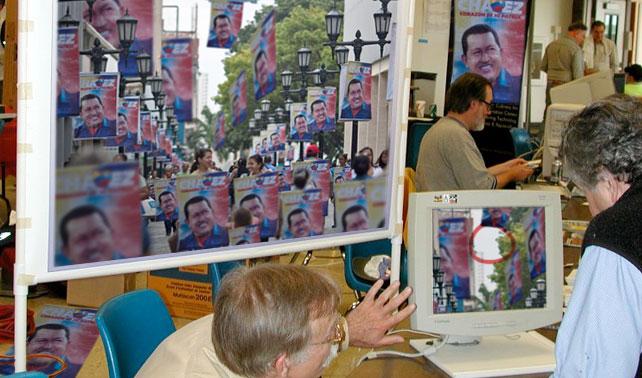 Científicos hallan extraño espacio que aún no tiene propaganda de Chávez