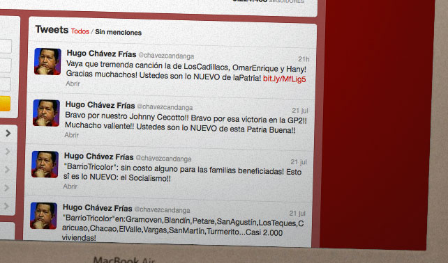 Chávez NUEVO asegura que lo que se escribe en mayúscula se hace realidad