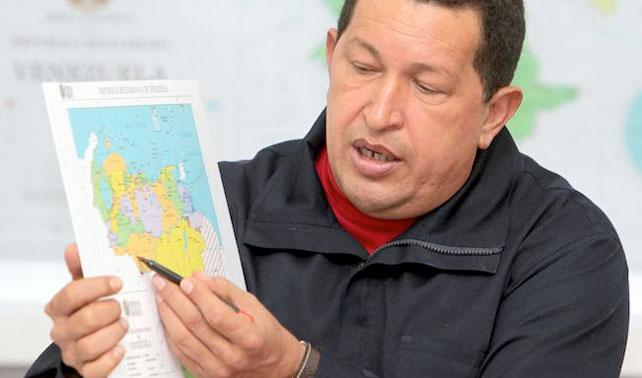 Chávez retira a Venezuela del planeta Tierra