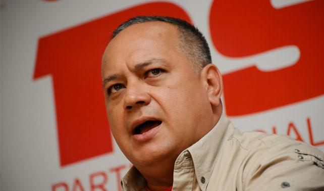 Cabello pide a 4 trillones chavistas que no crean las exageraciones de la oposición