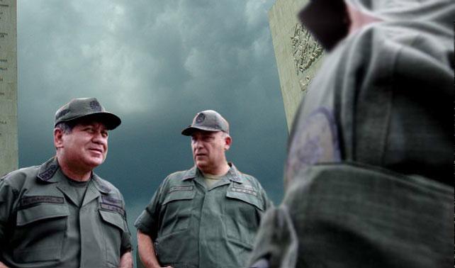 Ascienden a militares de uniforme XL a XXL