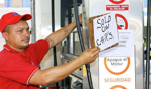 Para detener contrabando de gasolina Gobierno genera contrabando de chips