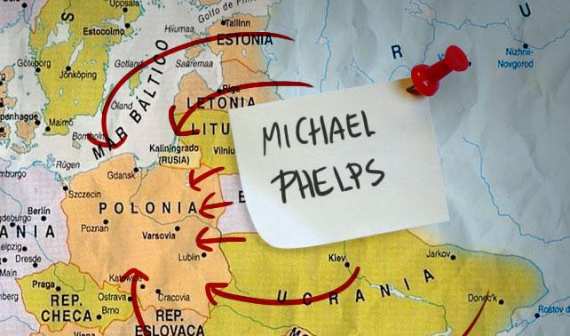 República Independiente de Michael Phelps gana 20 medallas y le declara la guerra a Polonia