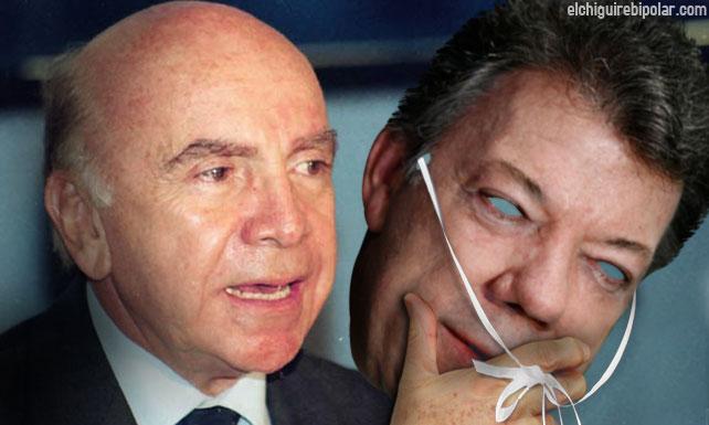 Carmona Estanga usa máscara de Santos para reunirse con Capriles