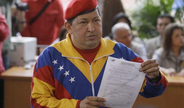 Chávez inscribe su candidatura para la gobernación de Miranda