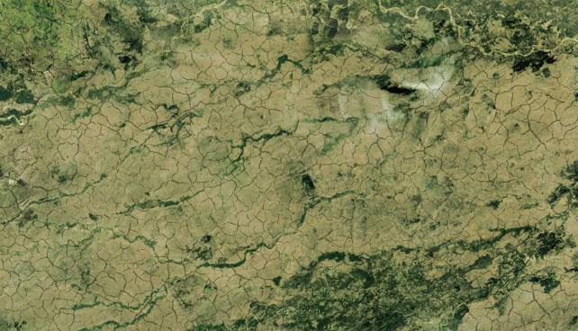 Satélite Miranda envía imágenes de tierras expropiadas improductivas