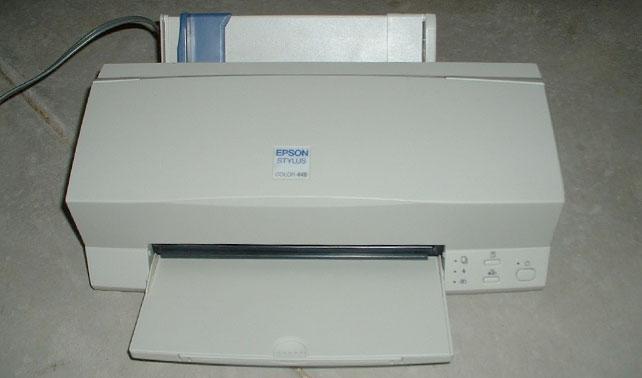 Epson 760 explica por qué nunca quiso imprimir aquel documento en 1999
