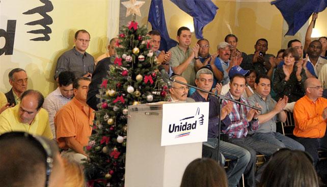 Por desinterés en política, MUD lanza arbolito de navidad como candidato en Carabobo