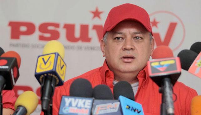 Diosdado dice que el fin del mundo debe posponerse hasta que Chávez se juramente