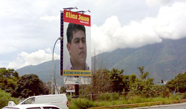 Candidatos a gobernaciones del PSUV sustituyen vallas por fotos con cara de puchero