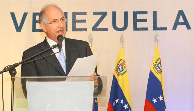 En confuso momento Chávez elige a Antonio Ledezma como Vicepresidente encargado