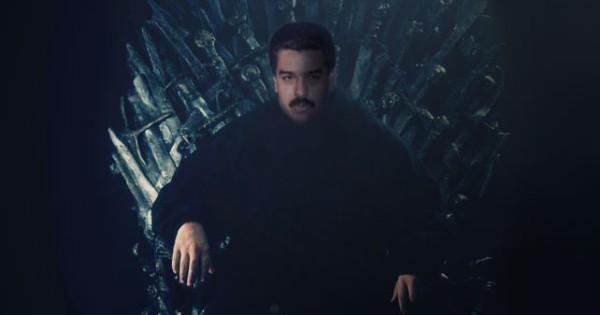 """Maduro también toma posesión de los siete reinos en """"Game Of Thrones"""""""