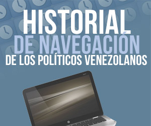 El historial de navegación de los políticos