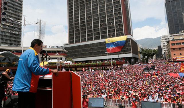 "Maduro: ""Chávez, Chávez, Chávez, Chávez, Chávez, Chávez, Chávez, Chávez, Chávez"""