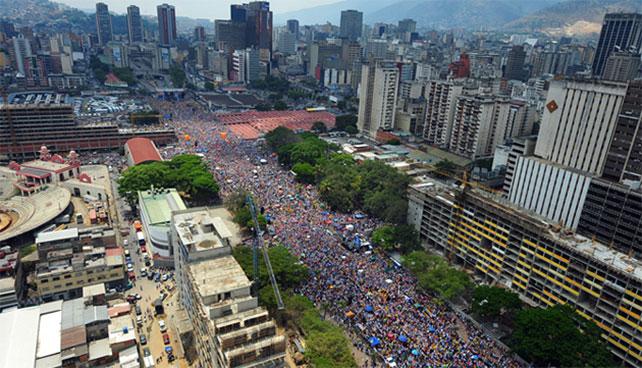 Avenida Bolívar añora el tiempo en que hacían un mitin cada 5 años