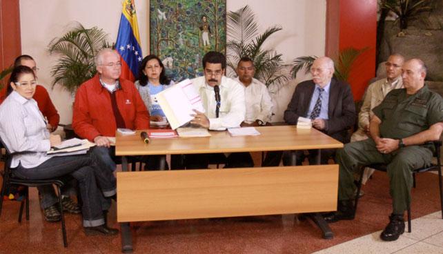 Maduro inicia cacería de corruptos que no estén en esta foto