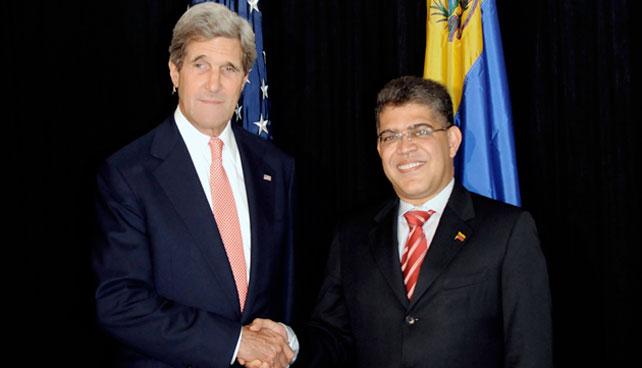 Reunión Kerry - Jaua... mierda qué ladilla de noticia