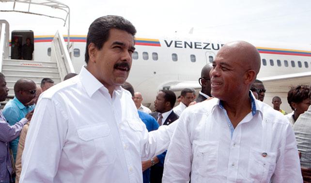 Maduro logra acuerdo con Haití para importar más pobreza