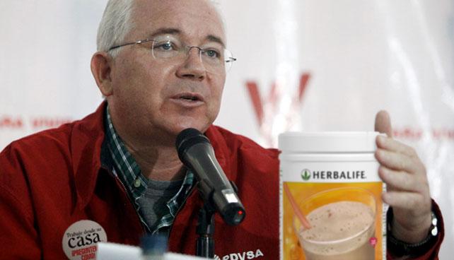Rafael Ramírez venderá Herbalife para pagar deudas de PDVSA