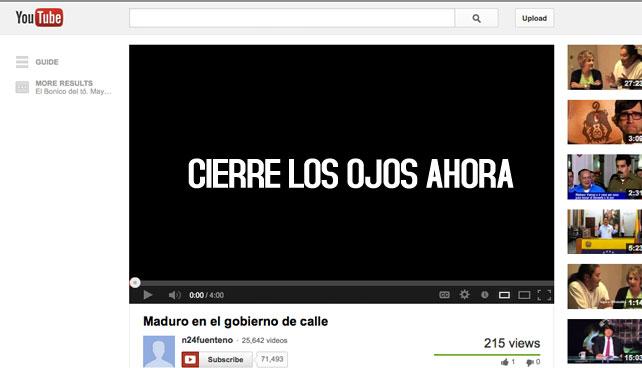 Youtube lanza nueva resolución sin video para Venezuela
