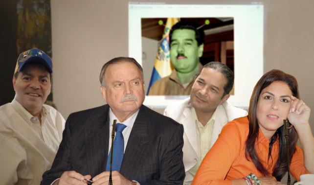 Cochez, Patricia Poleo, Dr Marquina y Reinaldo Dos Santos se unen para demostrar que Maduro es un extraterrestre nazi
