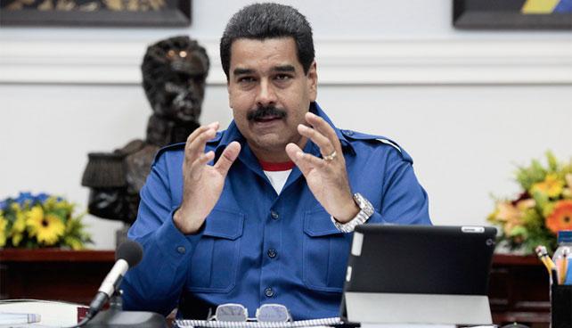 Maduro espera acabar con toda la corrupción que dejó el presidente anterior