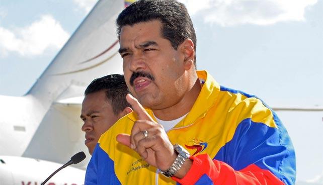 Maduro demanda a fabricante de avión presidencial por colapso económico de Venezuela