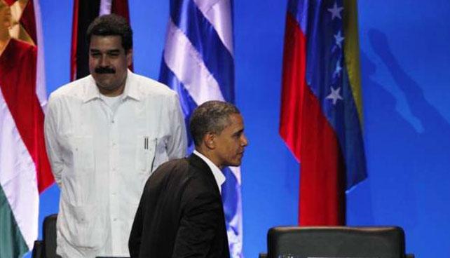 La versión original de la carta de paz que envió Maduro a Obama